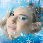 Self Models/Photographers/ Stylists x-promotion campaign for Winter Holiday GREETINGS!