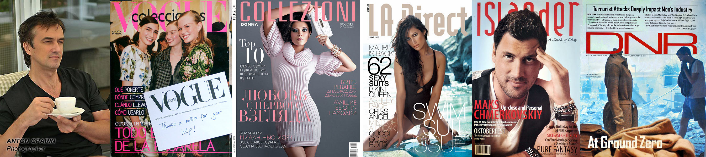 Anton Oparin - Magazine Covers