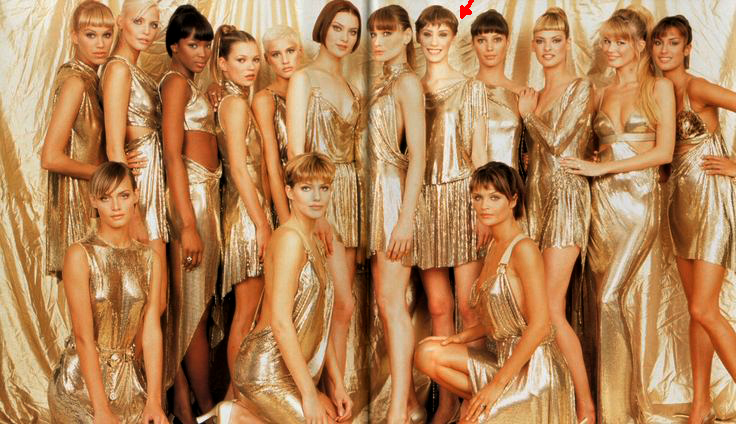The Golden Summit of The Model Industry of 90s - SS 1994 Versace